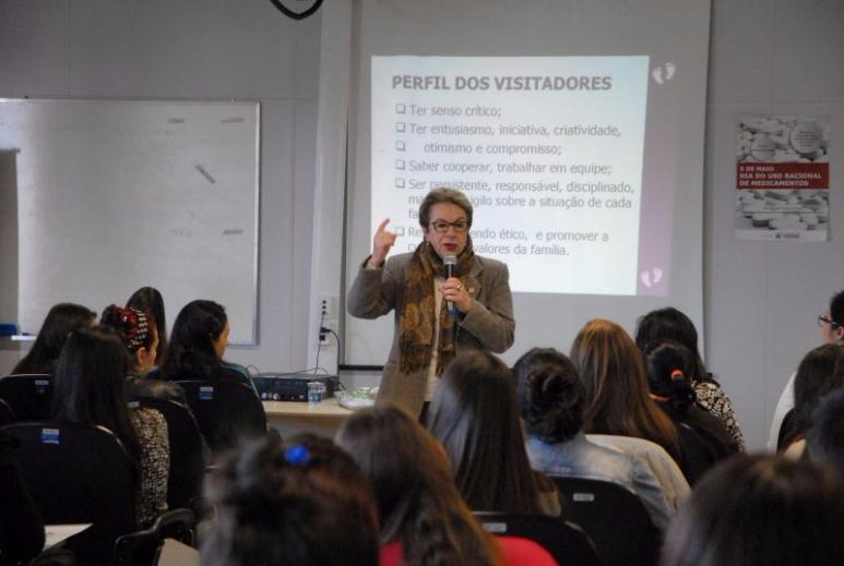 PIM de Caxias do Sul promove capacitação para selecionar novos Visitadores