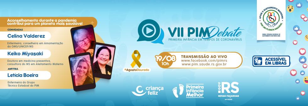 VII PIM Debate aborda amamentação em referência ao #AgostoDourado