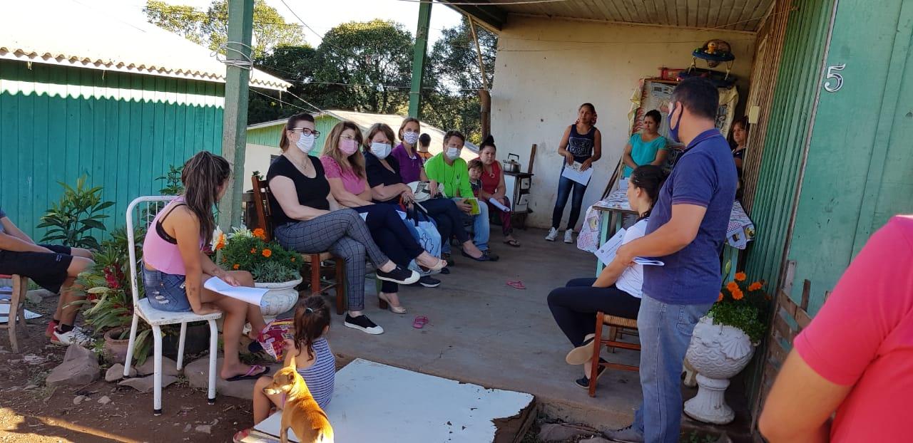 Ação concreta do PIM de Serafina Corrêa em apoio às crianças