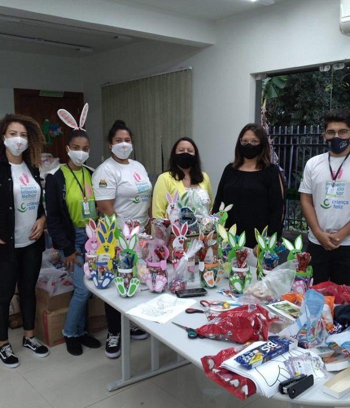 CRAS de Três Coroas promove ação e distribui 138 cestinhas em alusão a páscoa