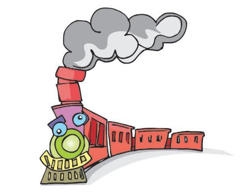 O trem de ferro