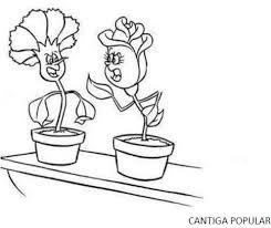 O cravo brigou com a rosa