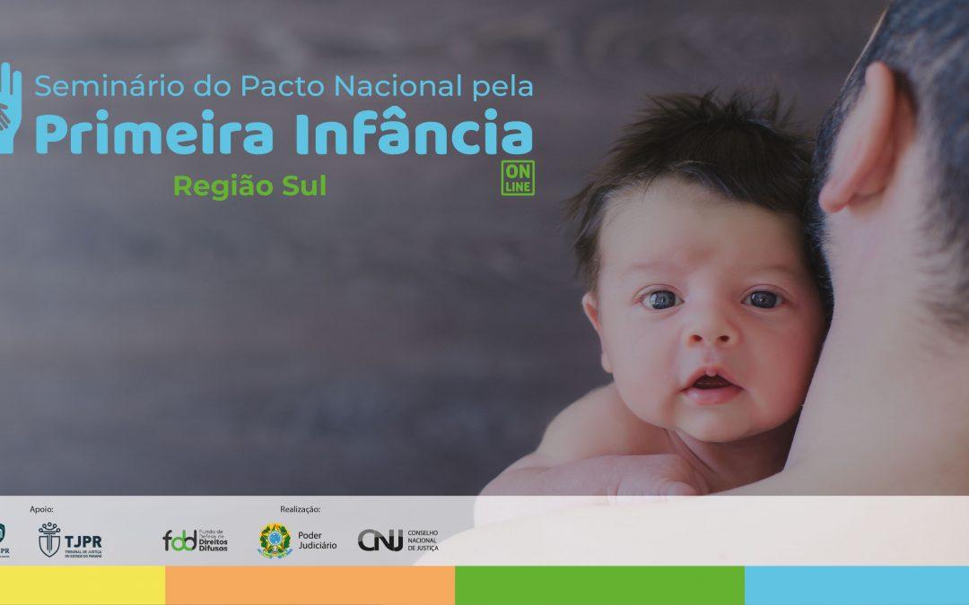 PIM é convidado a assinar o Pacto Nacional pela Primeira Infância em seminário virtual