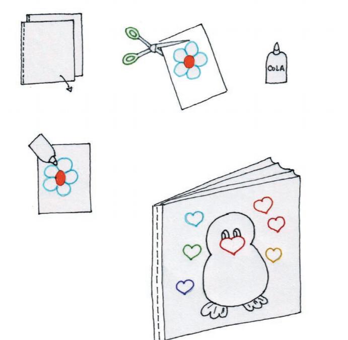 Livro plástico de banho